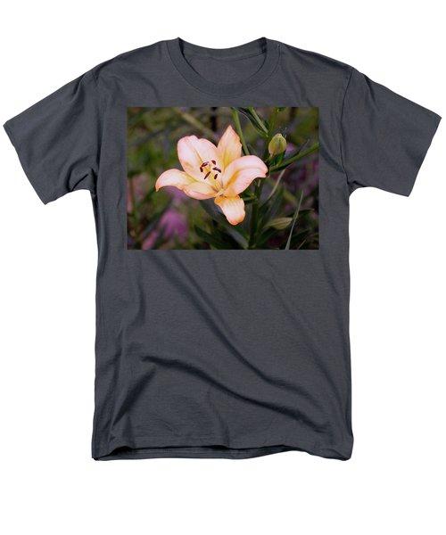 Asiatic Lilly Men's T-Shirt  (Regular Fit) by B Wayne Mullins