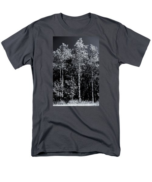 Aspen Drama Men's T-Shirt  (Regular Fit) by Shelly Gunderson