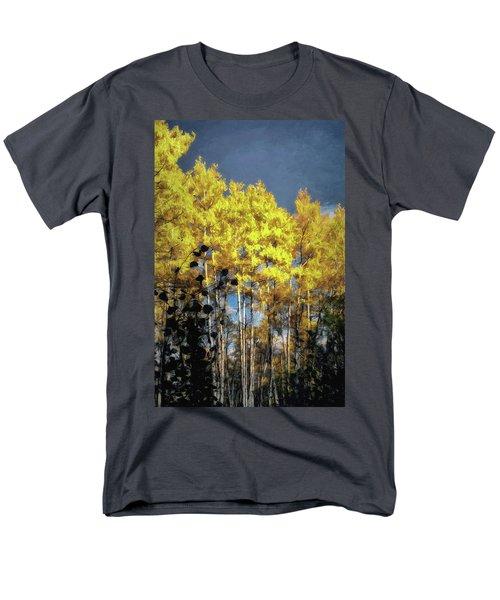 Aspen Impressions Men's T-Shirt  (Regular Fit) by Jim Hill