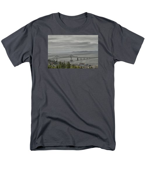 Men's T-Shirt  (Regular Fit) featuring the photograph Astoria, Gateway To Oregon by Tom Kelly