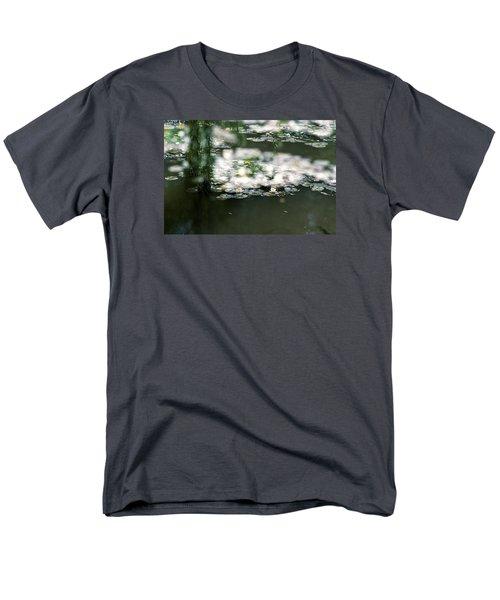 Men's T-Shirt  (Regular Fit) featuring the photograph At Claude Monet's Water Garden 5 by Dubi Roman