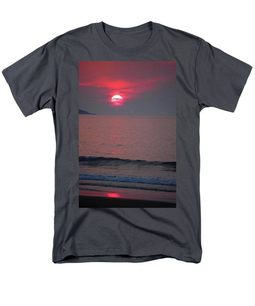 Men's T-Shirt  (Regular Fit) featuring the photograph Atlantic Sunrise by Sumoflam Photography