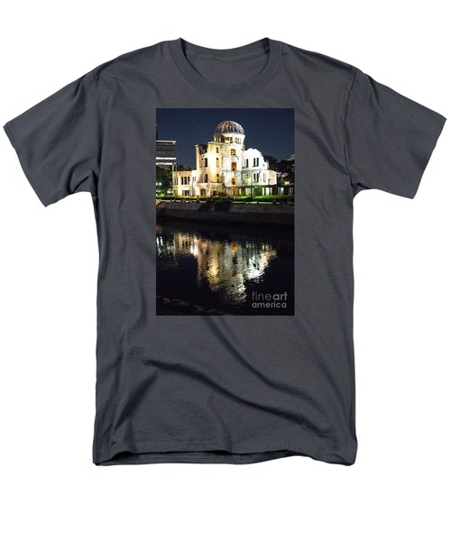 Men's T-Shirt  (Regular Fit) featuring the photograph Atomic Dome - Symbol Of Destruction And Hope by Pravine Chester