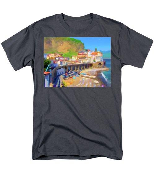 Atrani Italy 01 Men's T-Shirt  (Regular Fit) by Wally Hampton