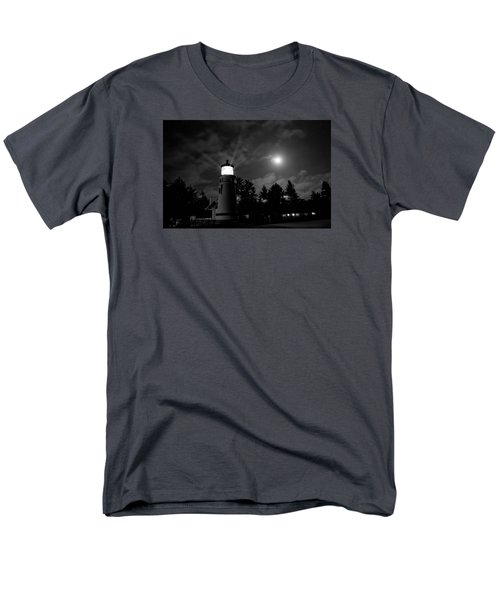 Men's T-Shirt  (Regular Fit) featuring the photograph August Moon by Adria Trail
