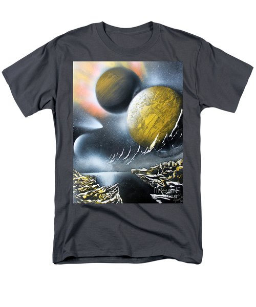 Men's T-Shirt  (Regular Fit) featuring the painting Aurora by Greg Moores