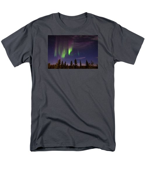 Men's T-Shirt  (Regular Fit) featuring the photograph Aurora Nights by Serge Skiba