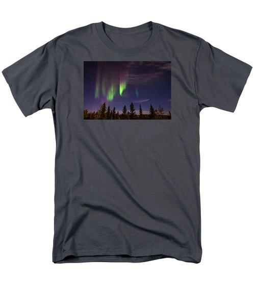 Aurora Nights Men's T-Shirt  (Regular Fit) by Serge Skiba