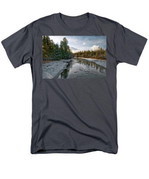 Ausable River 1282 Men's T-Shirt  (Regular Fit) by Michael Peychich