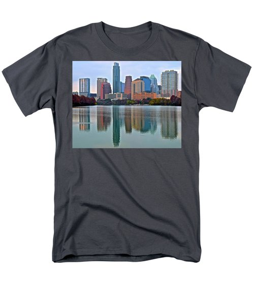 Austin Shimmer  Men's T-Shirt  (Regular Fit) by Frozen in Time Fine Art Photography