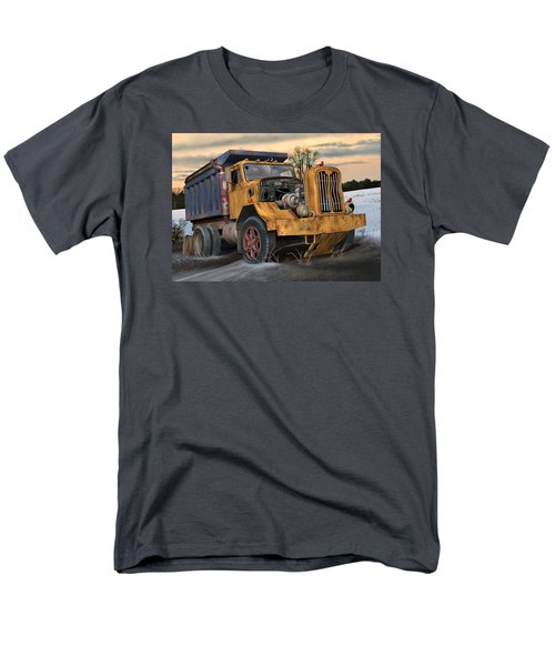 Autocar Dumptruck Men's T-Shirt  (Regular Fit) by Stuart Swartz