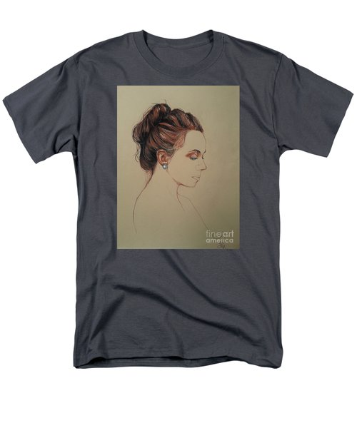 Autoportrait Maja Sokolowska Men's T-Shirt  (Regular Fit) by Maja Sokolowska