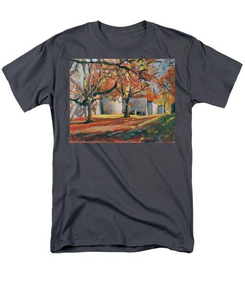 Autumn Along Maastricht City Wall Men's T-Shirt  (Regular Fit)