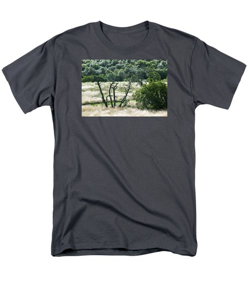 Autumn And Grass In Isle Of Skye, Uk Men's T-Shirt  (Regular Fit) by Dubi Roman