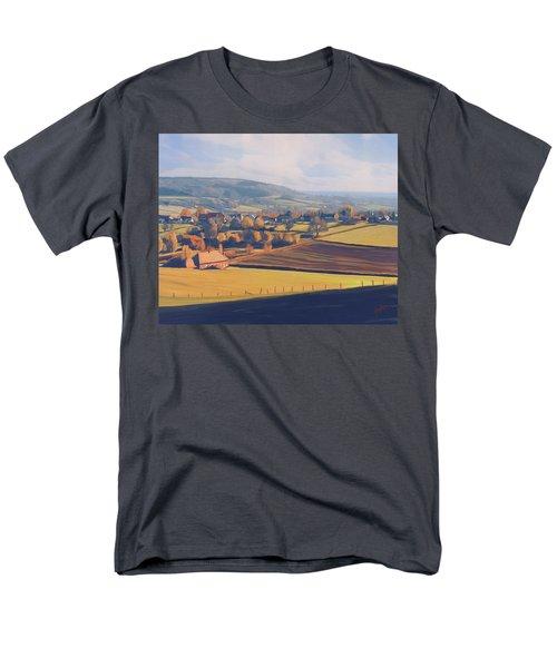 Autumn In Mechelen Men's T-Shirt  (Regular Fit) by Nop Briex