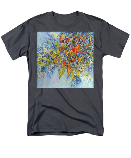 Men's T-Shirt  (Regular Fit) featuring the painting Autumn Lace by Joanne Smoley