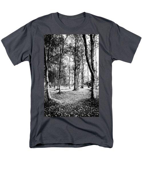 Autumn Lights Men's T-Shirt  (Regular Fit) by Edgar Laureano