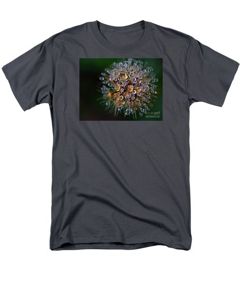 Men's T-Shirt  (Regular Fit) featuring the photograph Autumn Pearls by AmaS Art