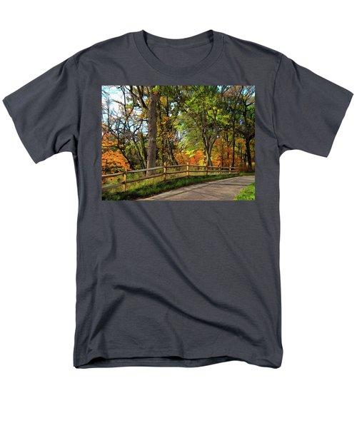 Autumn Song Men's T-Shirt  (Regular Fit) by Cedric Hampton