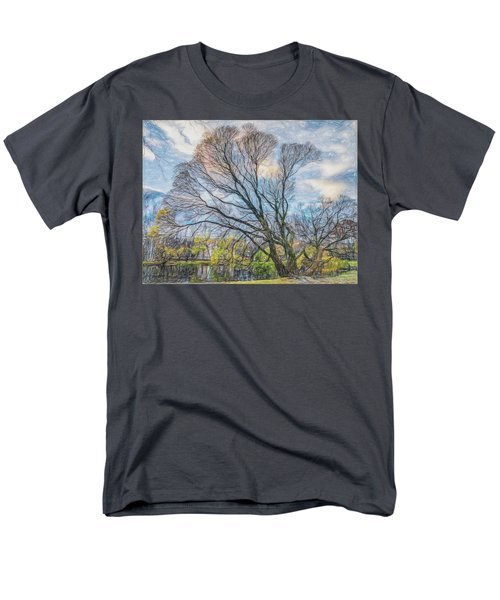 Autumn Tree Men's T-Shirt  (Regular Fit) by Vladimir Kholostykh