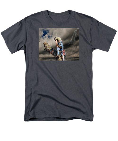 Ax Man Men's T-Shirt  (Regular Fit)