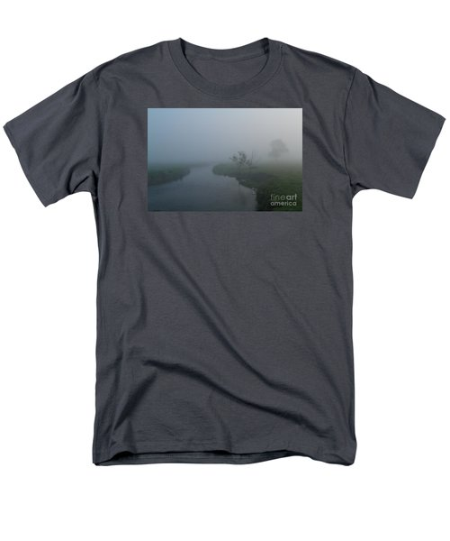 Men's T-Shirt  (Regular Fit) featuring the photograph Axe In The Mist by Gary Bridger