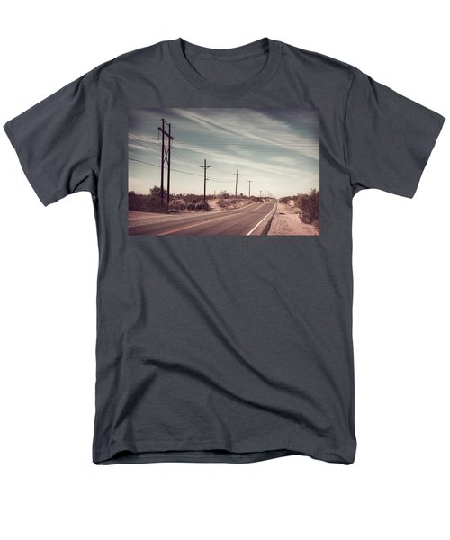 Men's T-Shirt  (Regular Fit) featuring the photograph Az Highway by Joseph Westrupp