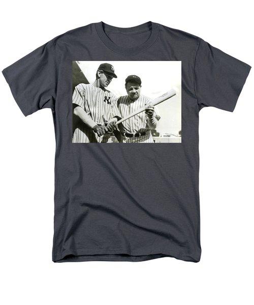 Babe Ruth And Lou Gehrig Men's T-Shirt  (Regular Fit) by Jon Neidert