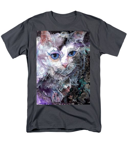 Men's T-Shirt  (Regular Fit) featuring the painting Baby Blues by Sherry Shipley