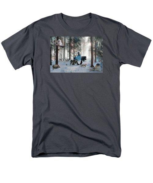 Men's T-Shirt  (Regular Fit) featuring the digital art Baby Owl by Dorota Kudyba