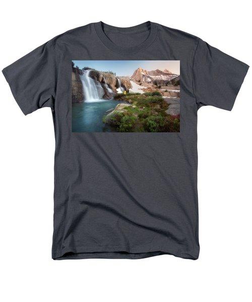 Backcountry Views Men's T-Shirt  (Regular Fit) by Nicki Frates