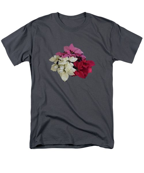 Background Choice-pointsettias Men's T-Shirt  (Regular Fit)