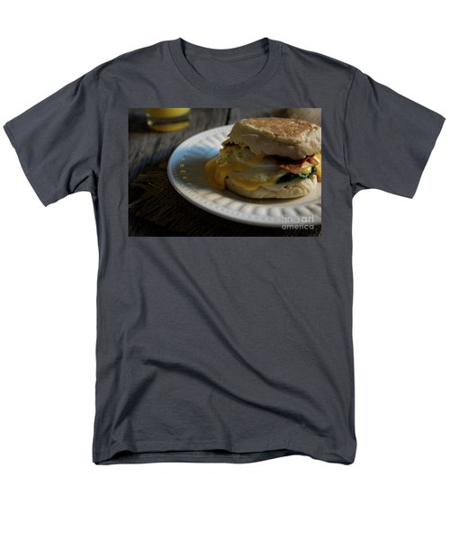 Men's T-Shirt  (Regular Fit) featuring the photograph Bacon And Cheese by Deborah Klubertanz