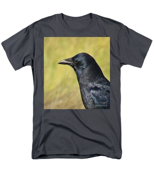 Men's T-Shirt  (Regular Fit) featuring the photograph Corvus Corax by Michele Penner