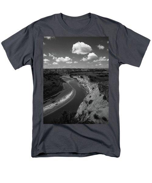 Badlands, North Dakota Men's T-Shirt  (Regular Fit) by Art Shimamura