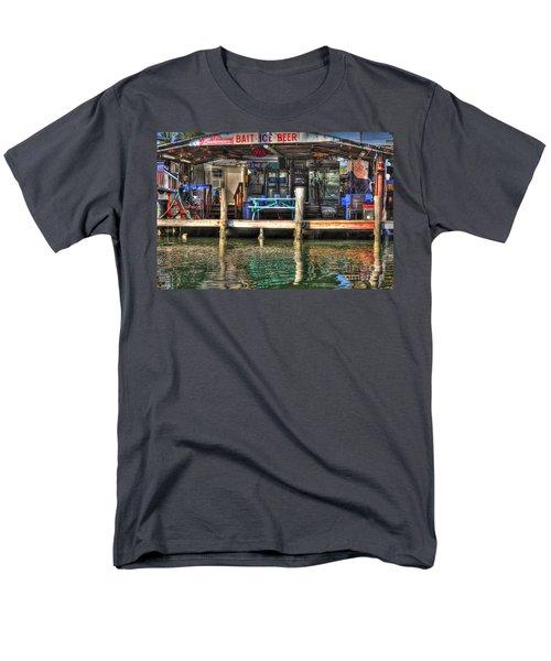 Bait Ice  Beer Shop On Bay Men's T-Shirt  (Regular Fit) by Dan Friend