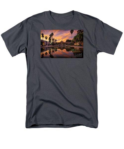 Balboa Park Botanical Building Sunset Men's T-Shirt  (Regular Fit) by Sam Antonio Photography