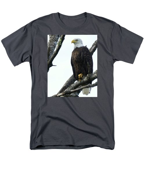 Men's T-Shirt  (Regular Fit) featuring the photograph Bald Eagle 4 by Steven Clipperton
