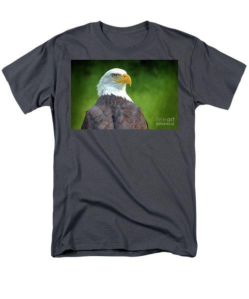 Bald Eagle Men's T-Shirt  (Regular Fit) by Franziskus Pfleghart