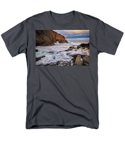 Men's T-Shirt  (Regular Fit) featuring the photograph Bald Head Cliff by Rick Berk