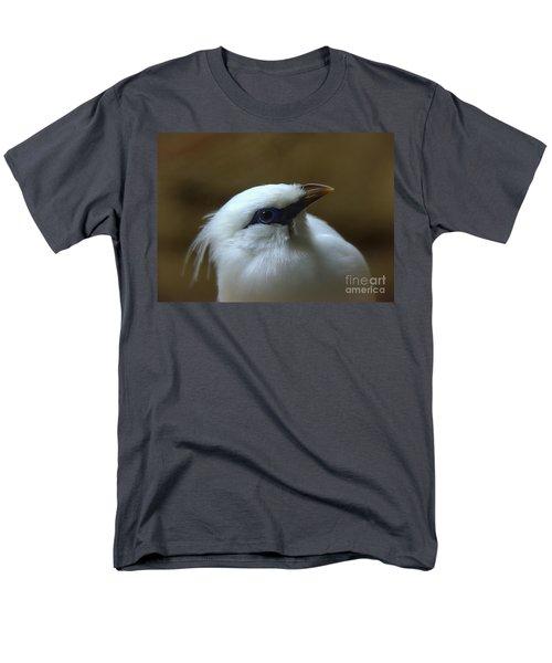 Men's T-Shirt  (Regular Fit) featuring the photograph Bali Mynah by Lisa L Silva
