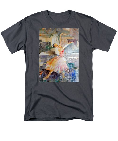 Ballerina In Motion Men's T-Shirt  (Regular Fit) by Mary Haley-Rocks