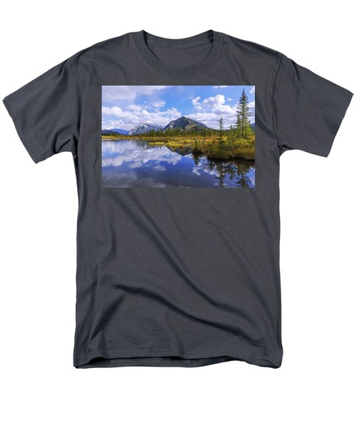 Men's T-Shirt  (Regular Fit) featuring the photograph Banff Reflection by Chad Dutson
