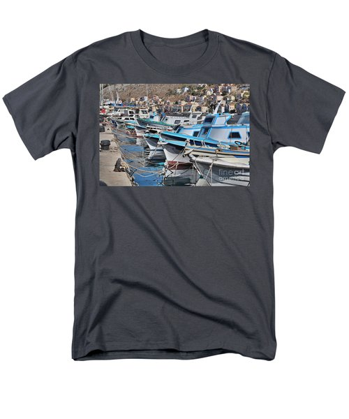 Harbour Of Simi Men's T-Shirt  (Regular Fit) by Wilhelm Hufnagl