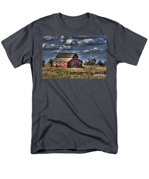 Barn After Storm Men's T-Shirt  (Regular Fit) by Jim And Emily Bush