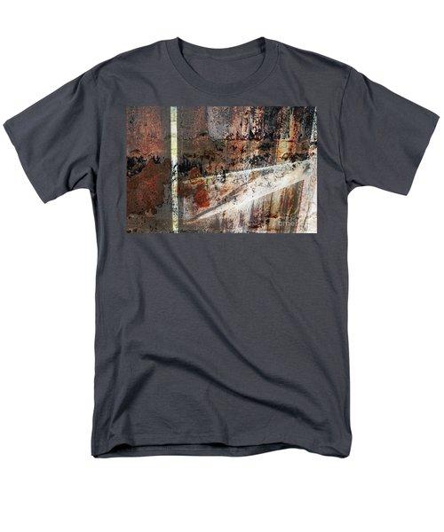Barn Door Men's T-Shirt  (Regular Fit) by Deborah Nakano