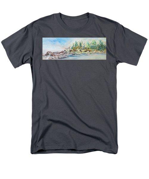 Barrier Bay Men's T-Shirt  (Regular Fit) by Joanne Smoley