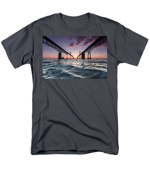 Bay Bridge Twilight Men's T-Shirt  (Regular Fit)