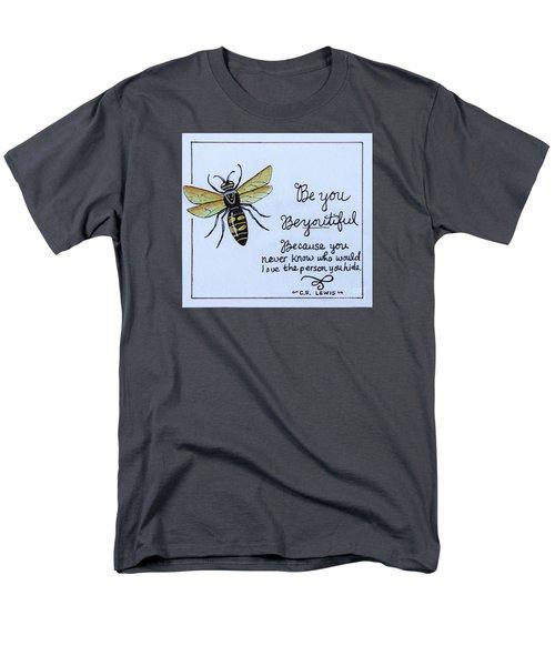 Be You Men's T-Shirt  (Regular Fit) by Elizabeth Robinette Tyndall