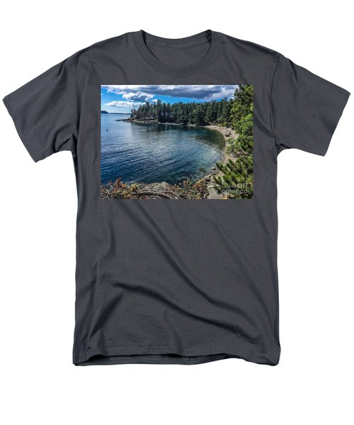 Men's T-Shirt  (Regular Fit) featuring the photograph Beach Days by William Wyckoff